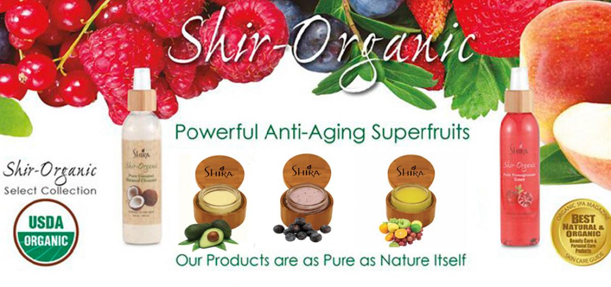 Organic Anti Aging Facial