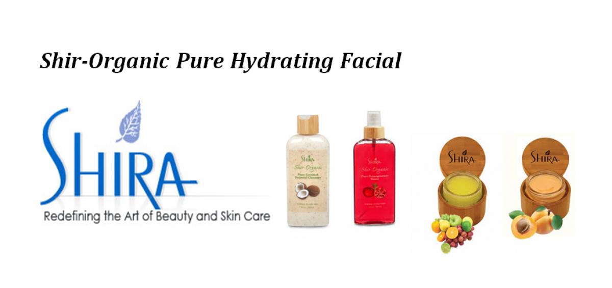 Organic Pure Hydrating Facial