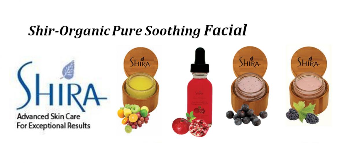 Organic Soothing Facial